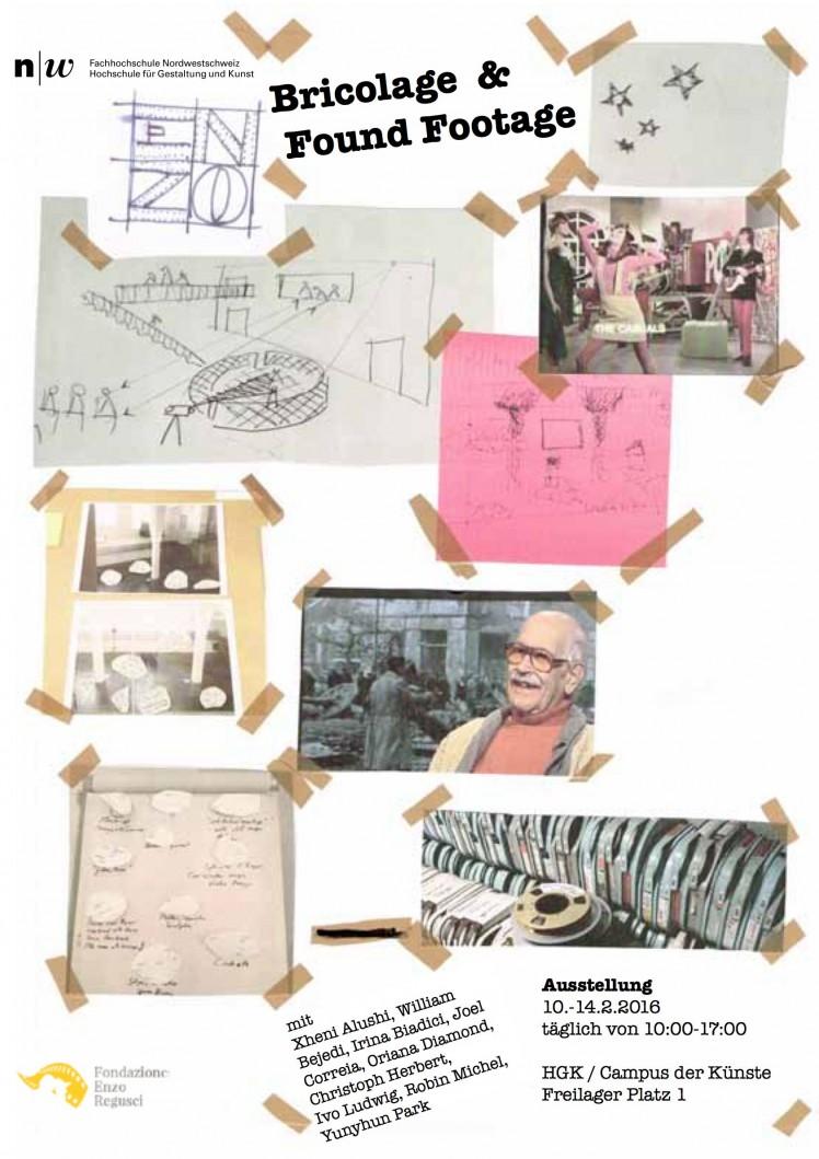 Enzo Regusci – Bricolage   &  Found Footage