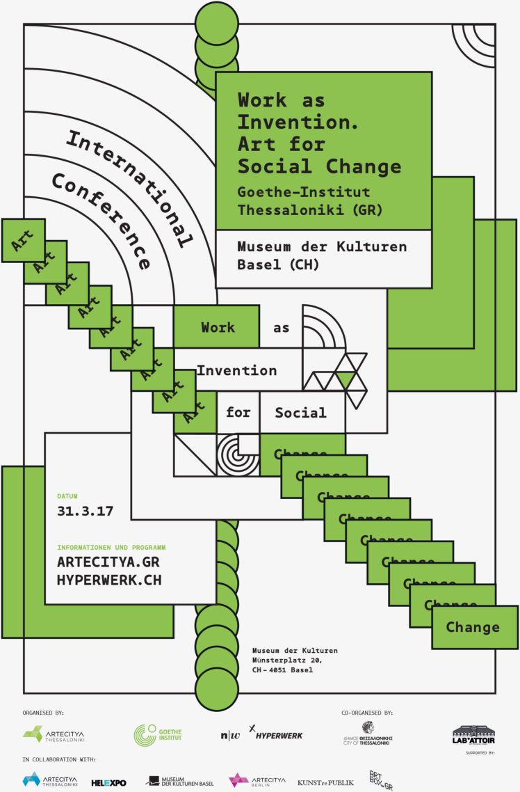 Work As Invention Art for Social Change