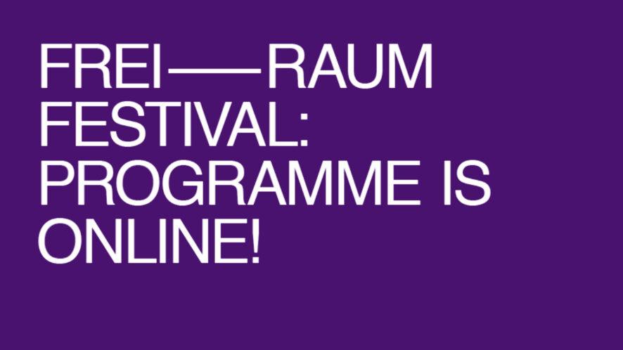 Freiraum Festival 2020